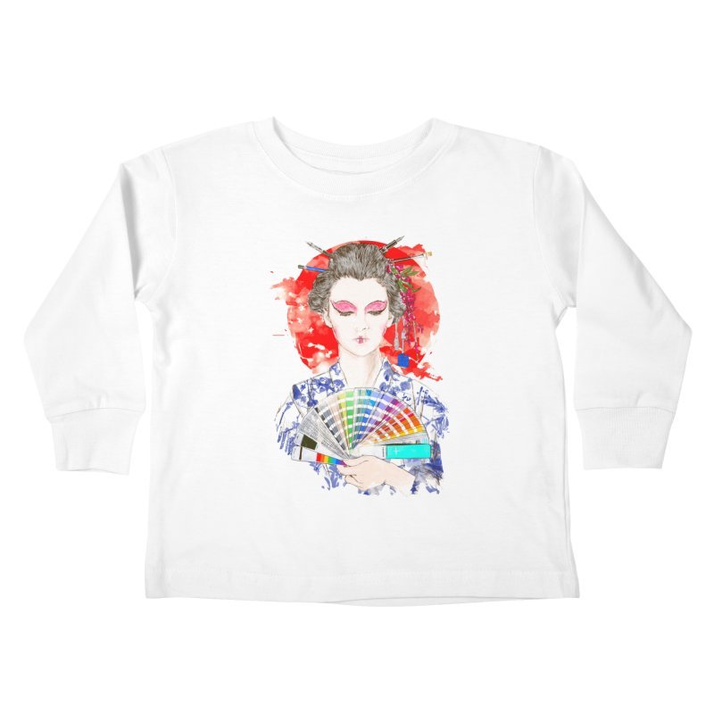 My Guide Kids Toddler Longsleeve T-Shirt by kooky love's Artist Shop