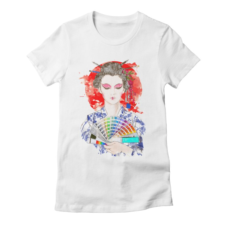 My Guide Women's Fitted T-Shirt by kooky love's Artist Shop