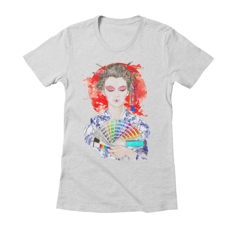 My Guide Women's Fitted T-Shirt by kooky love's Artist Shop