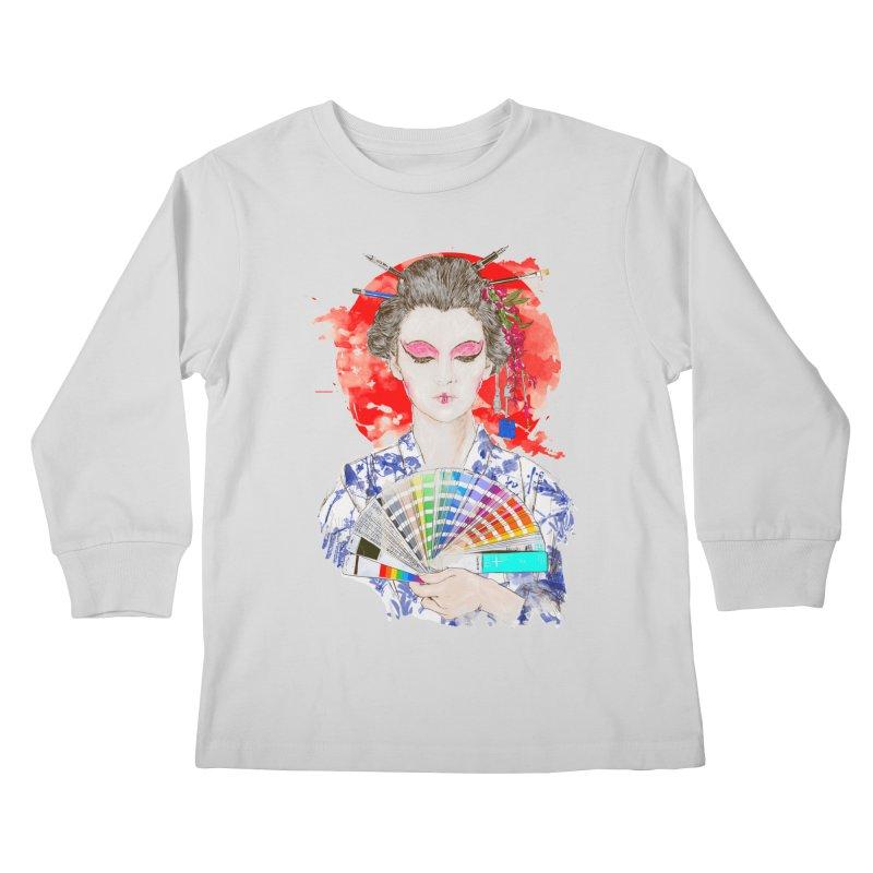 My Guide Kids Longsleeve T-Shirt by kooky love's Artist Shop