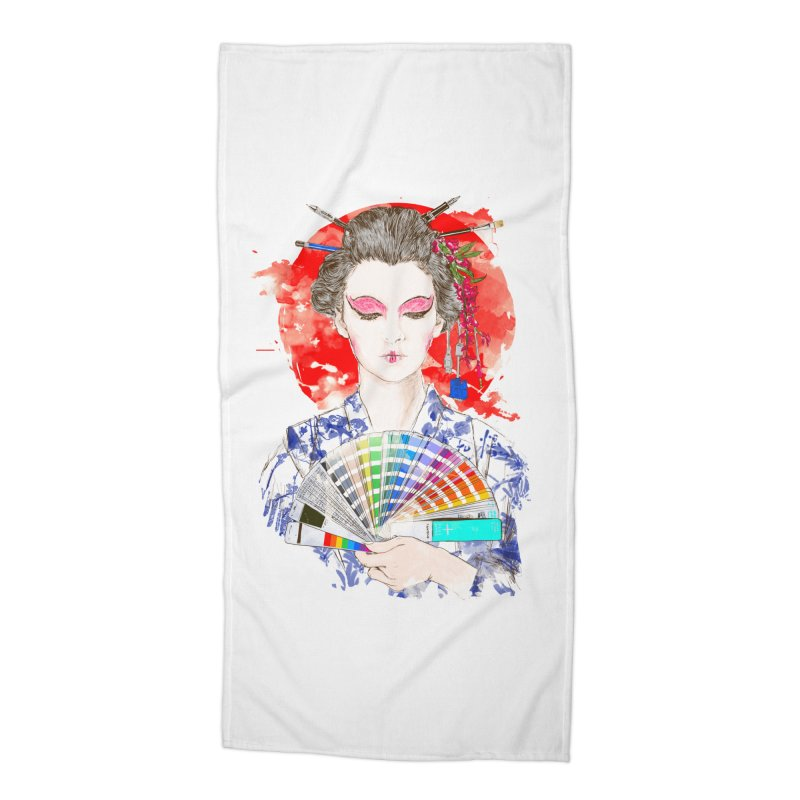 My Guide Accessories Beach Towel by kooky love's Artist Shop