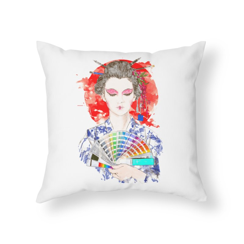 My Guide Home Throw Pillow by kooky love's Artist Shop
