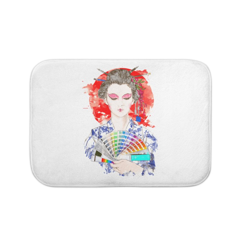 My Guide Home Bath Mat by kooky love's Artist Shop