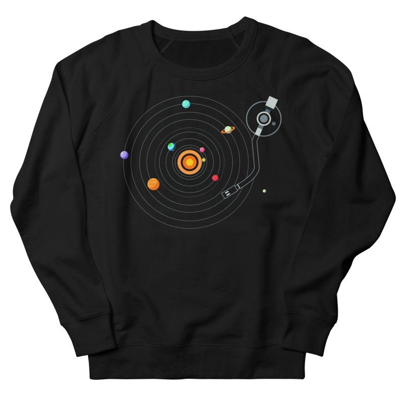 OUR SOLAR SYSTEM IS A VINYL Women's Sweatshirt by kooky love's Artist Shop
