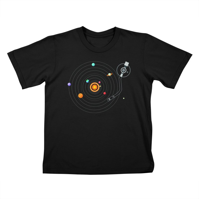 OUR SOLAR SYSTEM IS A VINYL Kids Toddler T-Shirt by kooky love's Artist Shop