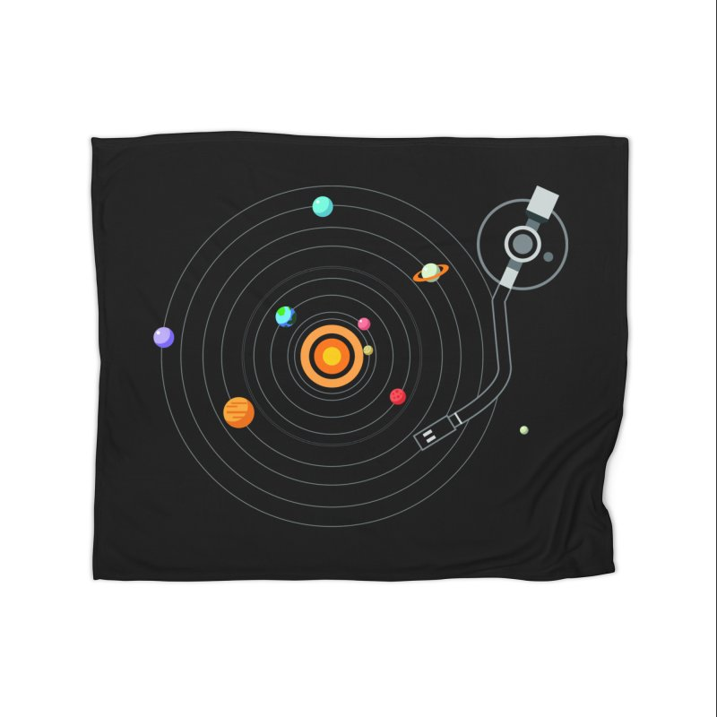 OUR SOLAR SYSTEM IS A VINYL Home Blanket by kooky love's Artist Shop