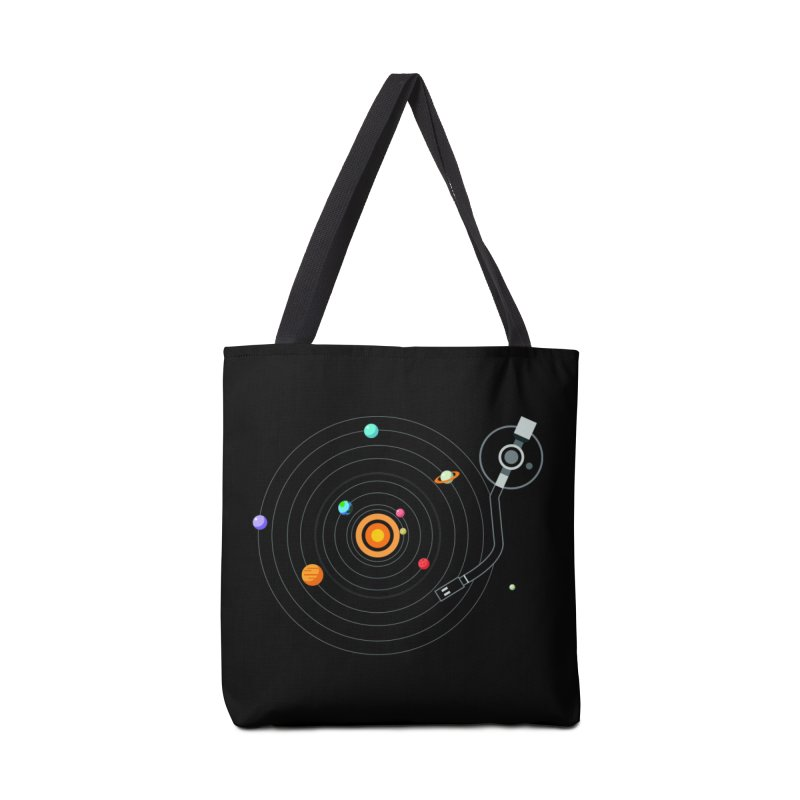 OUR SOLAR SYSTEM IS A VINYL Accessories Bag by kooky love's Artist Shop