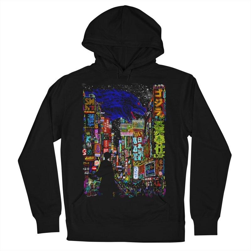Kaiju City Men's Pullover Hoody by kooky love's Artist Shop