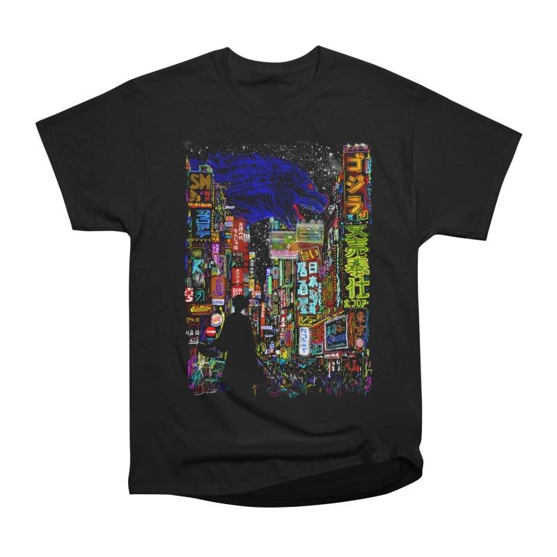 Kaiju City Men's Classic T-Shirt by kooky love's Artist Shop