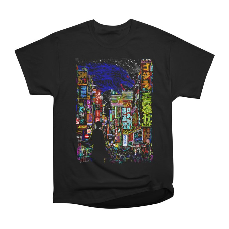 Kaiju City Women's Classic Unisex T-Shirt by kooky love's Artist Shop