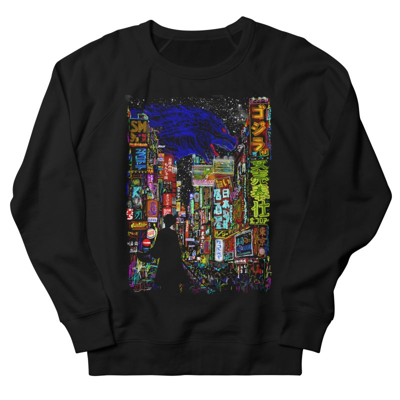Kaiju City Men's Sweatshirt by kooky love's Artist Shop