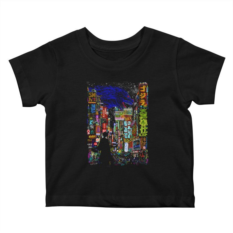Kaiju City Kids Baby T-Shirt by kooky love's Artist Shop