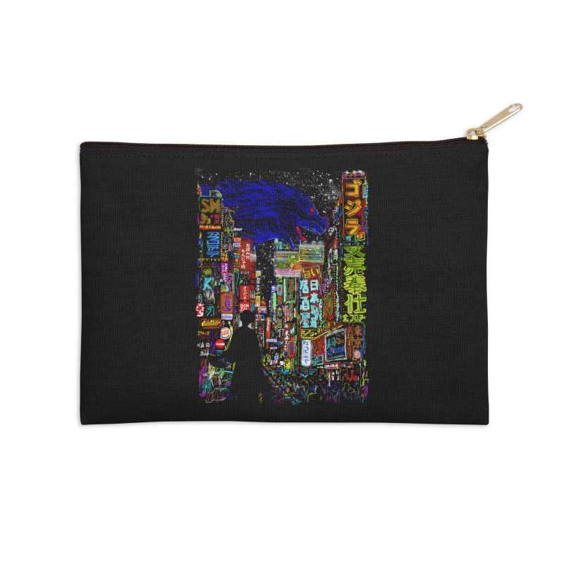 Kaiju City Accessories Zip Pouch by kooky love's Artist Shop