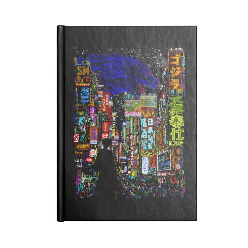 Kaiju City Accessories Notebook by kooky love's Artist Shop