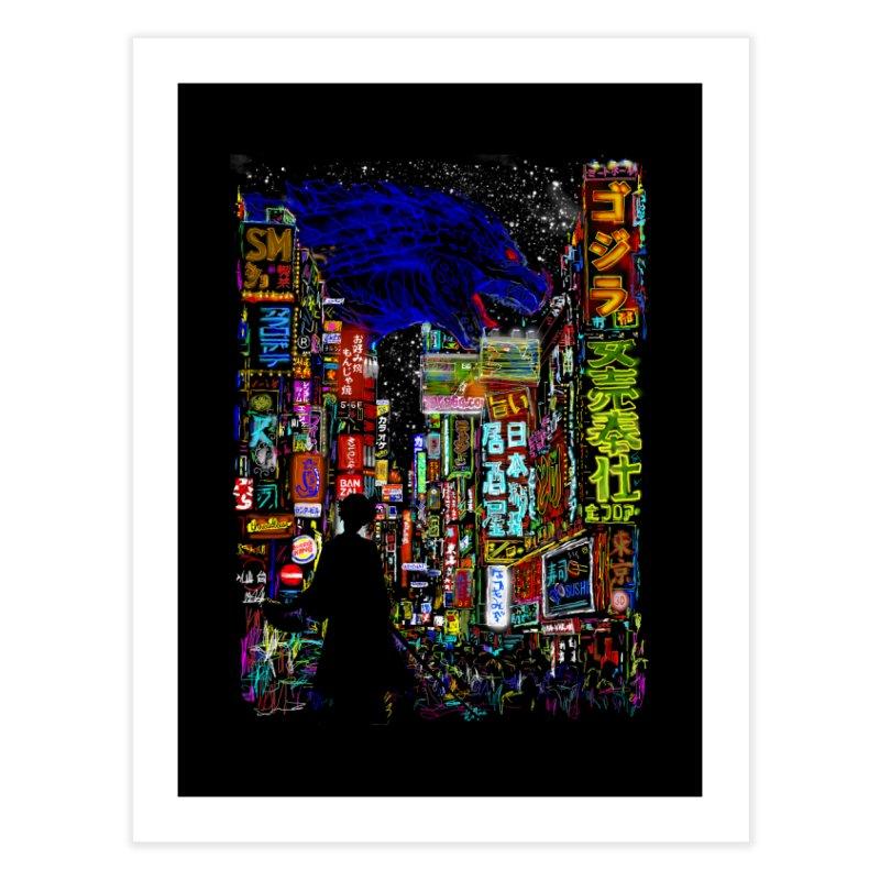 Kaiju City Home Fine Art Print by kooky love's Artist Shop