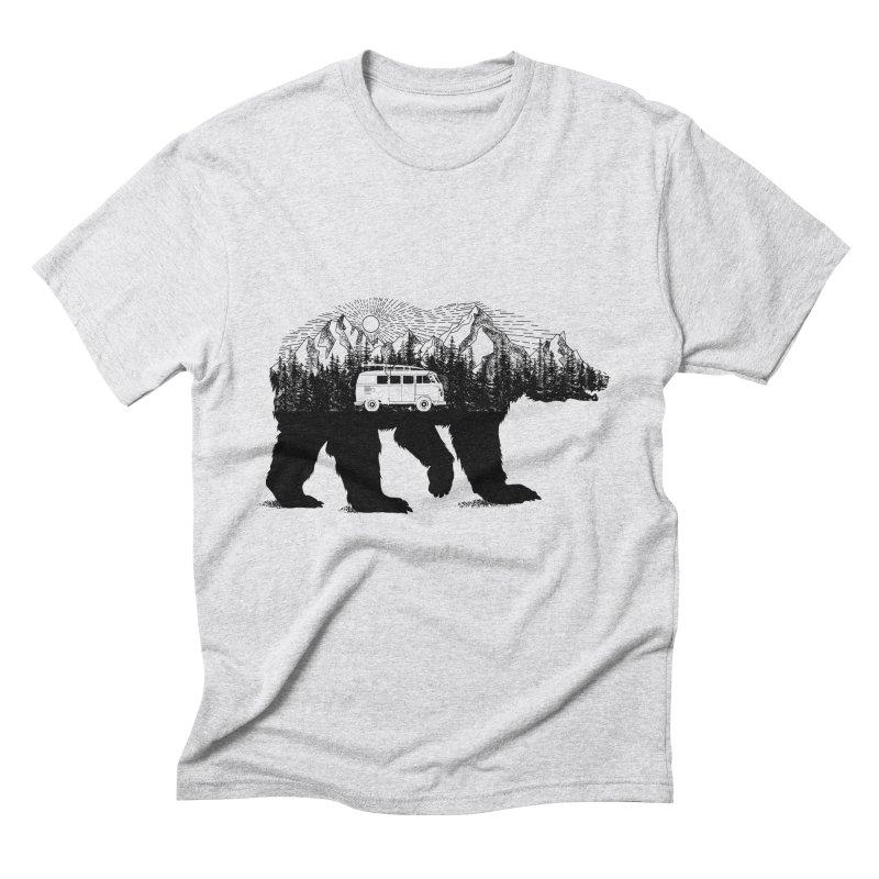 The Wanderer Men's Triblend T-Shirt by kooky love's Artist Shop