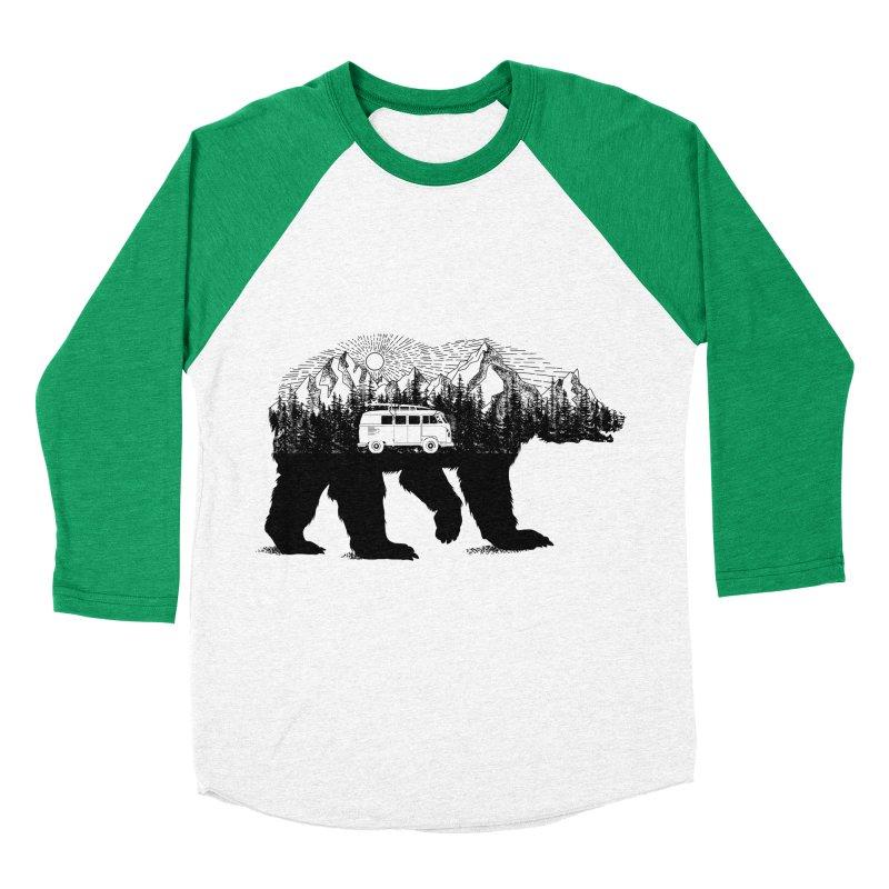The Wanderer Men's Baseball Triblend T-Shirt by kooky love's Artist Shop