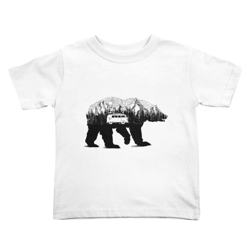 The Wanderer Kids Toddler T-Shirt by kooky love's Artist Shop