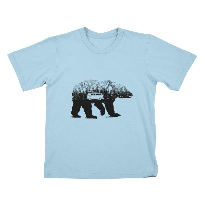 The Wanderer Kids T-Shirt by kooky love's Artist Shop