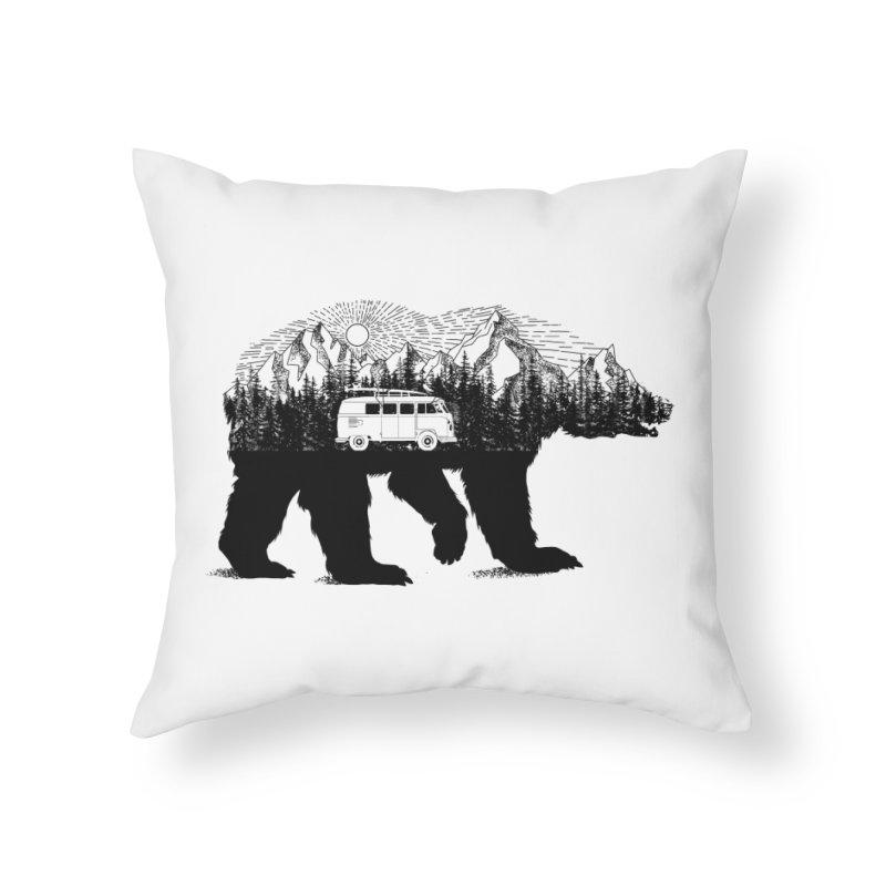 The Wanderer Home Throw Pillow by kooky love's Artist Shop
