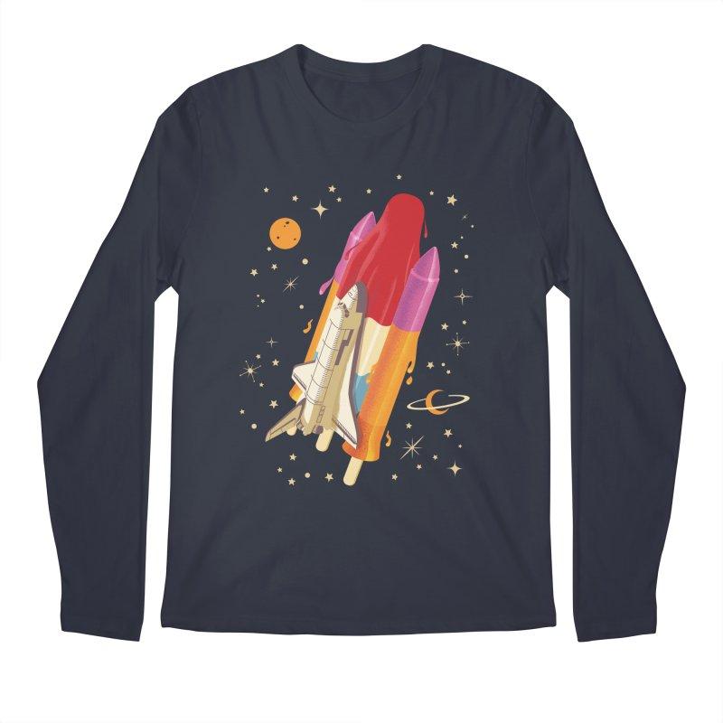Popsicle Mission Men's Longsleeve T-Shirt by kooky love's Artist Shop