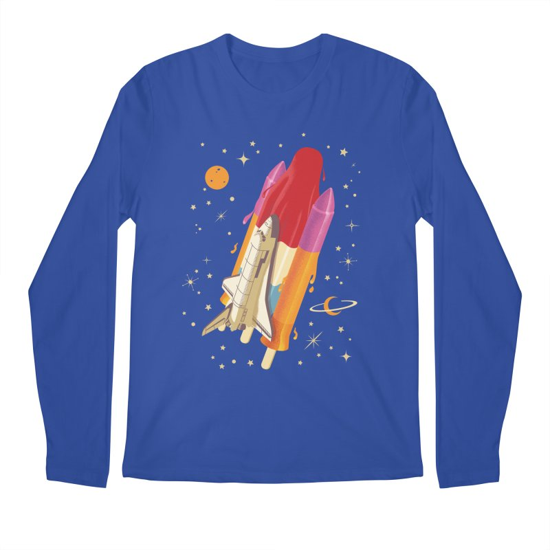 Popsicle Mission Men's Longsleeve T-Shirt by kooky love's Artist Shop