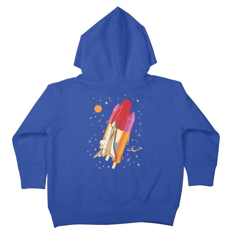 Popsicle Mission Kids Toddler Zip-Up Hoody by kooky love's Artist Shop
