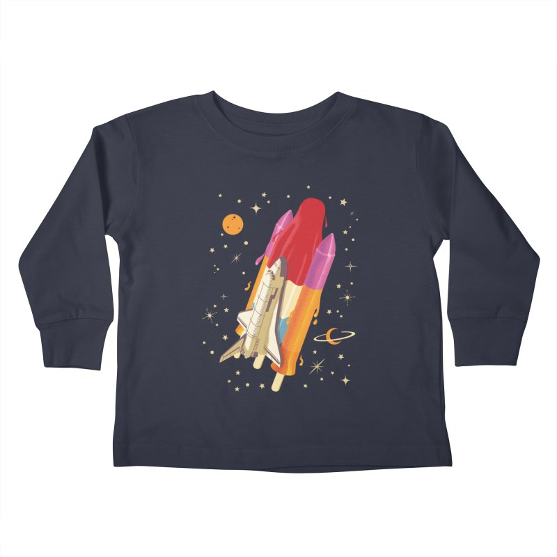 Popsicle Mission Kids Toddler Longsleeve T-Shirt by kooky love's Artist Shop