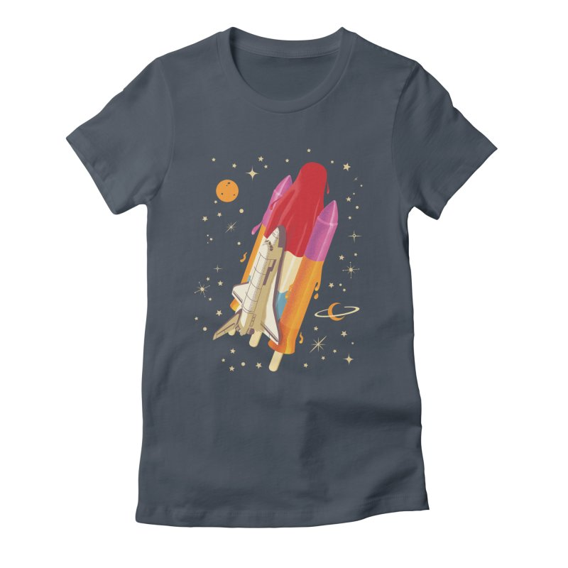 Popsicle Mission Women's Fitted T-Shirt by kooky love's Artist Shop