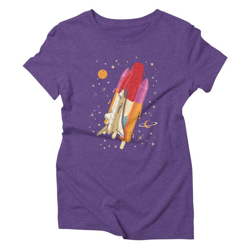 Popsicle Mission Women's Triblend T-shirt by kooky love's Artist Shop