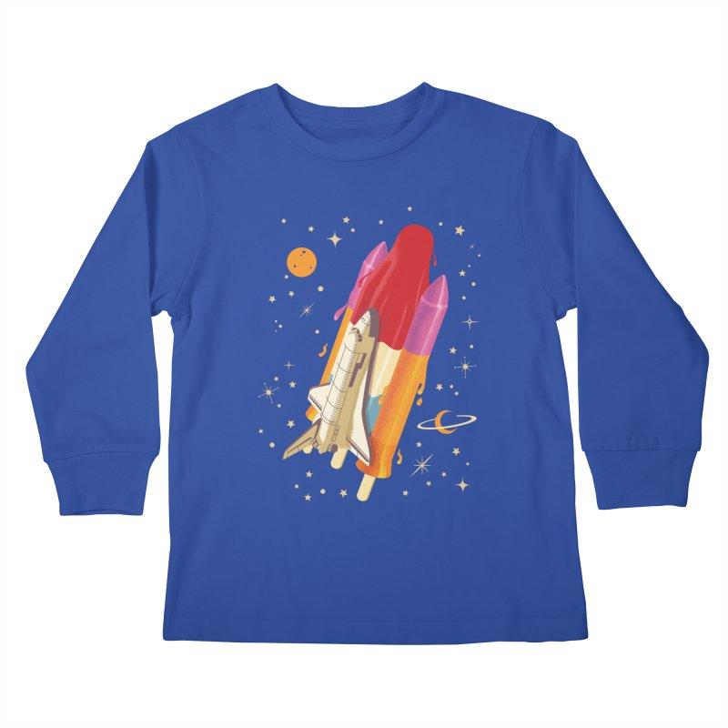 Popsicle Mission Kids Longsleeve T-Shirt by kooky love's Artist Shop