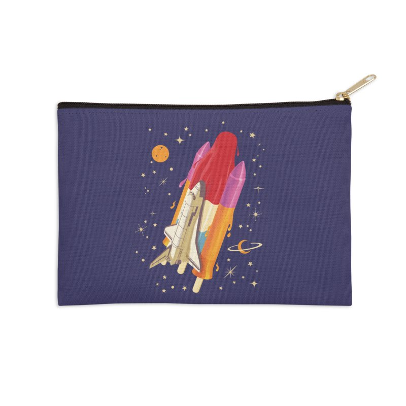 Popsicle Mission Accessories Zip Pouch by kooky love's Artist Shop