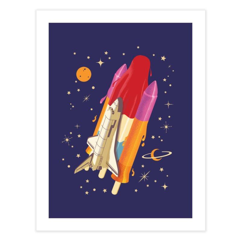 Popsicle Mission Home Fine Art Print by kooky love's Artist Shop
