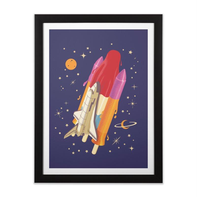 Popsicle Mission Home Framed Fine Art Print by kooky love's Artist Shop