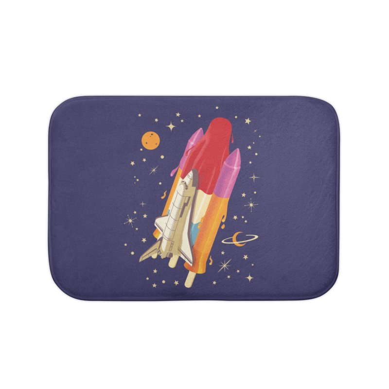 Popsicle Mission Home Bath Mat by kooky love's Artist Shop