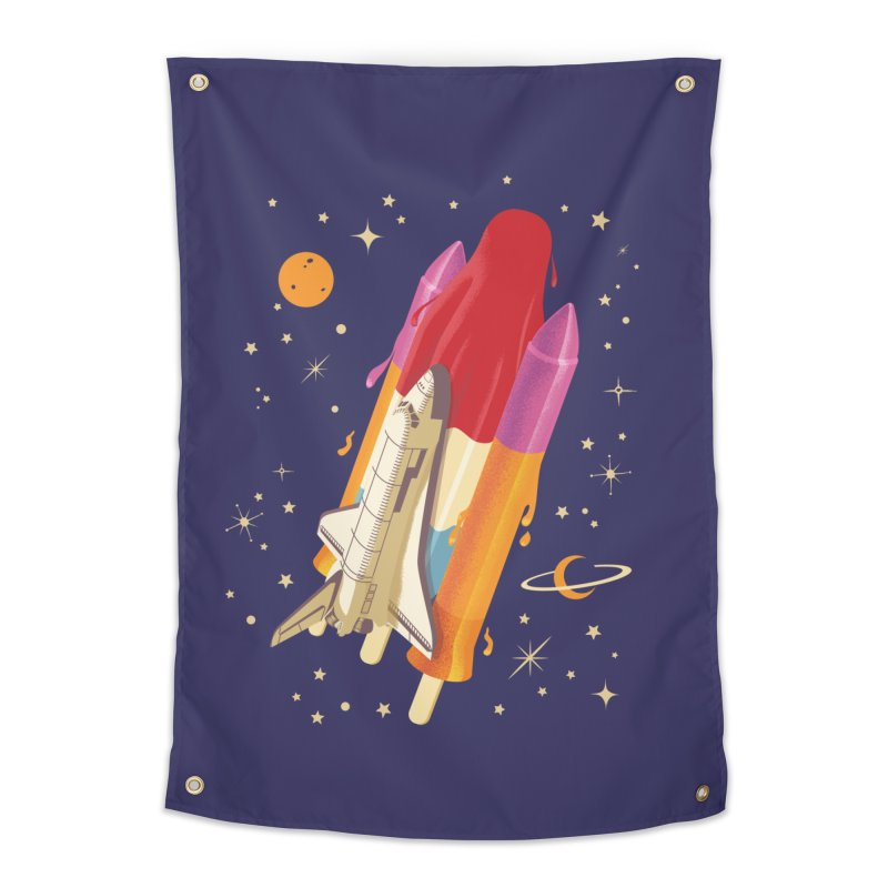 Popsicle Mission Home Tapestry by kooky love's Artist Shop