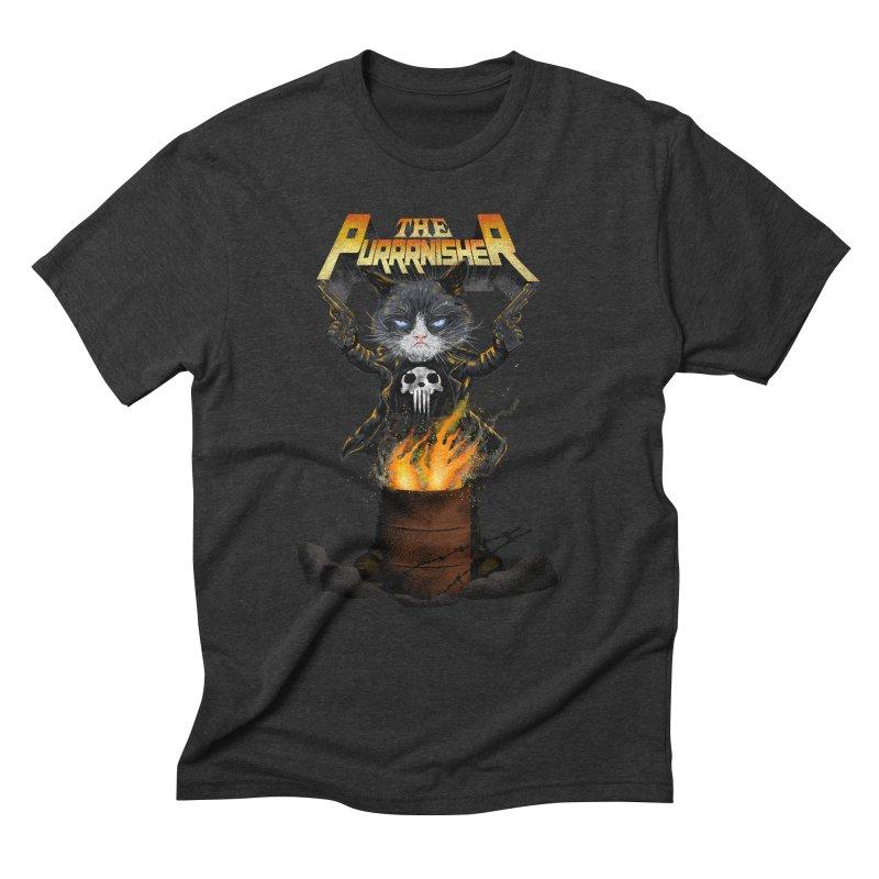 The Purrrnisher Men's Triblend T-Shirt by kooky love's Artist Shop