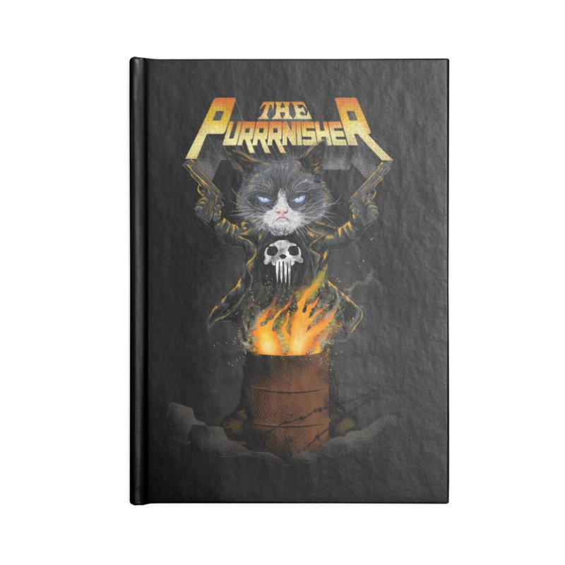 The Purrrnisher Accessories Notebook by kooky love's Artist Shop