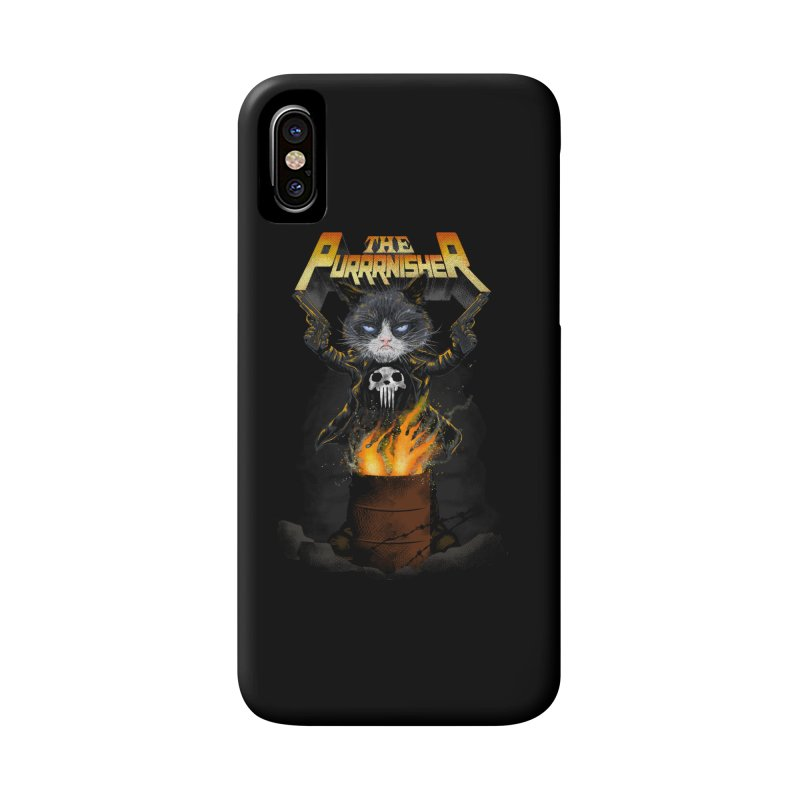 The Purrrnisher Accessories Phone Case by kooky love's Artist Shop