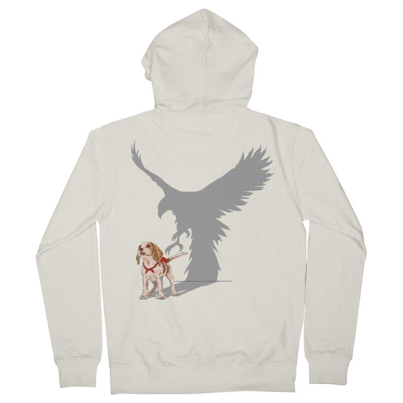Be Eagle Men's Zip-Up Hoody by kooky love's Artist Shop