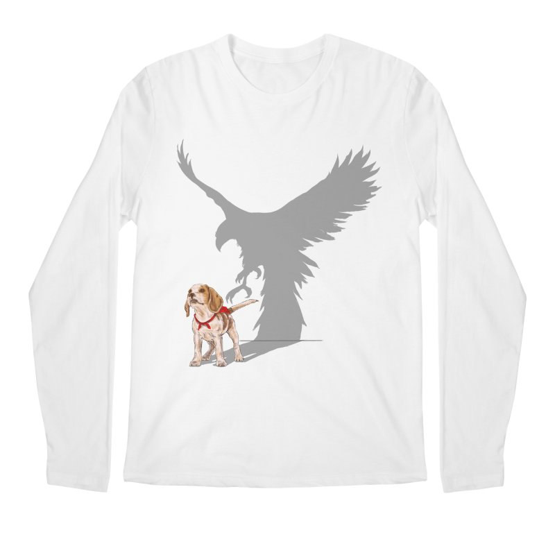 Be Eagle Men's Longsleeve T-Shirt by kooky love's Artist Shop