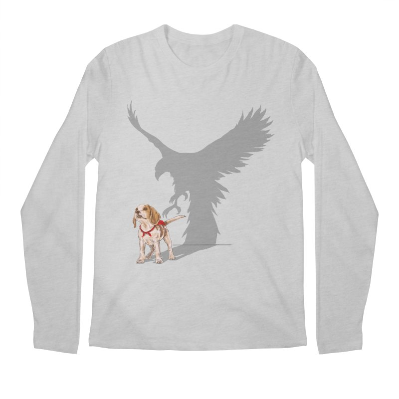 Be Eagle Men's Longsleeve T-Shirt by kooky love's Artist Shop