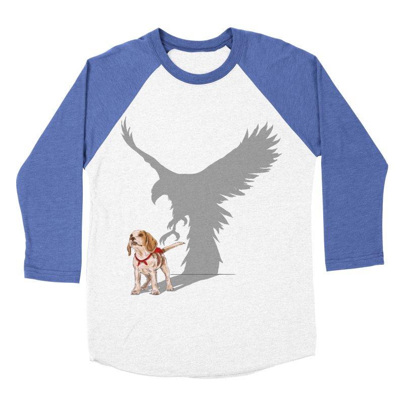 Be Eagle Women's Baseball Triblend T-Shirt by kooky love's Artist Shop