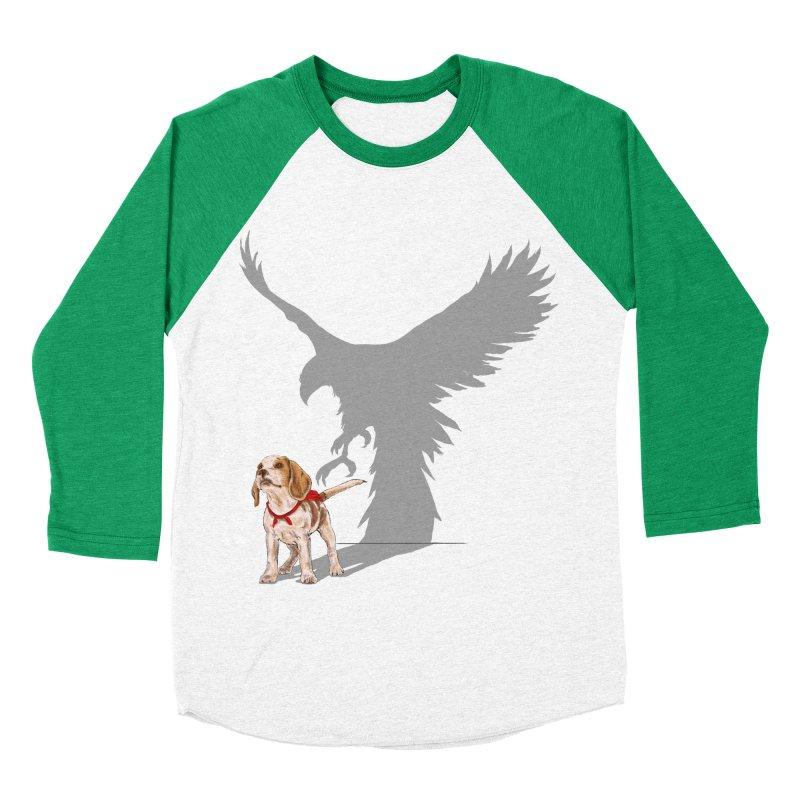 Be Eagle Men's Baseball Triblend T-Shirt by kooky love's Artist Shop