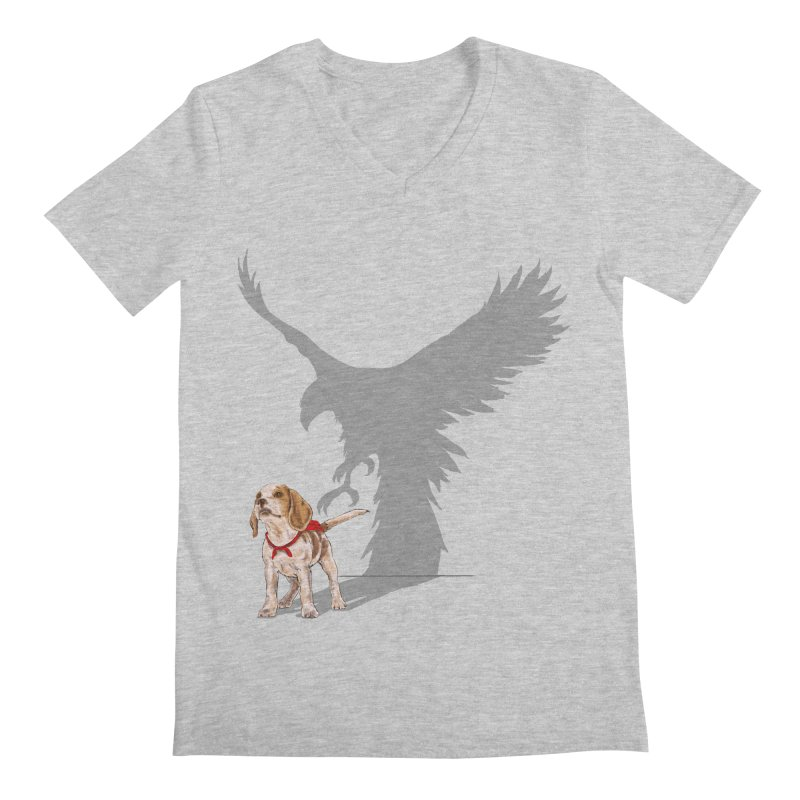 Be Eagle Men's V-Neck by kooky love's Artist Shop