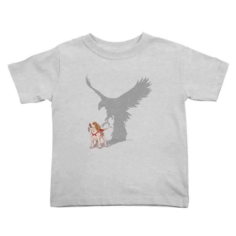 Be Eagle Kids Toddler T-Shirt by kooky love's Artist Shop
