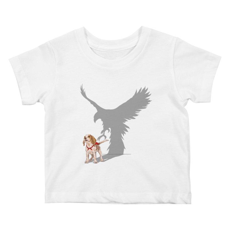 Be Eagle Kids Baby T-Shirt by kooky love's Artist Shop