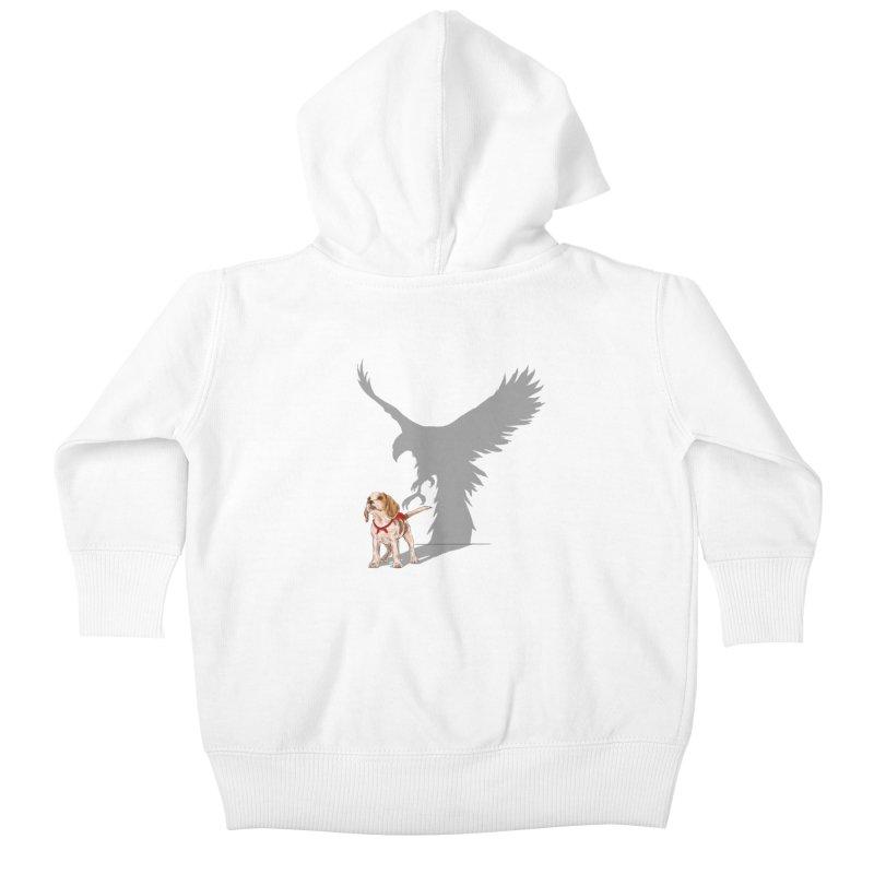 Be Eagle Kids Baby Zip-Up Hoody by kooky love's Artist Shop