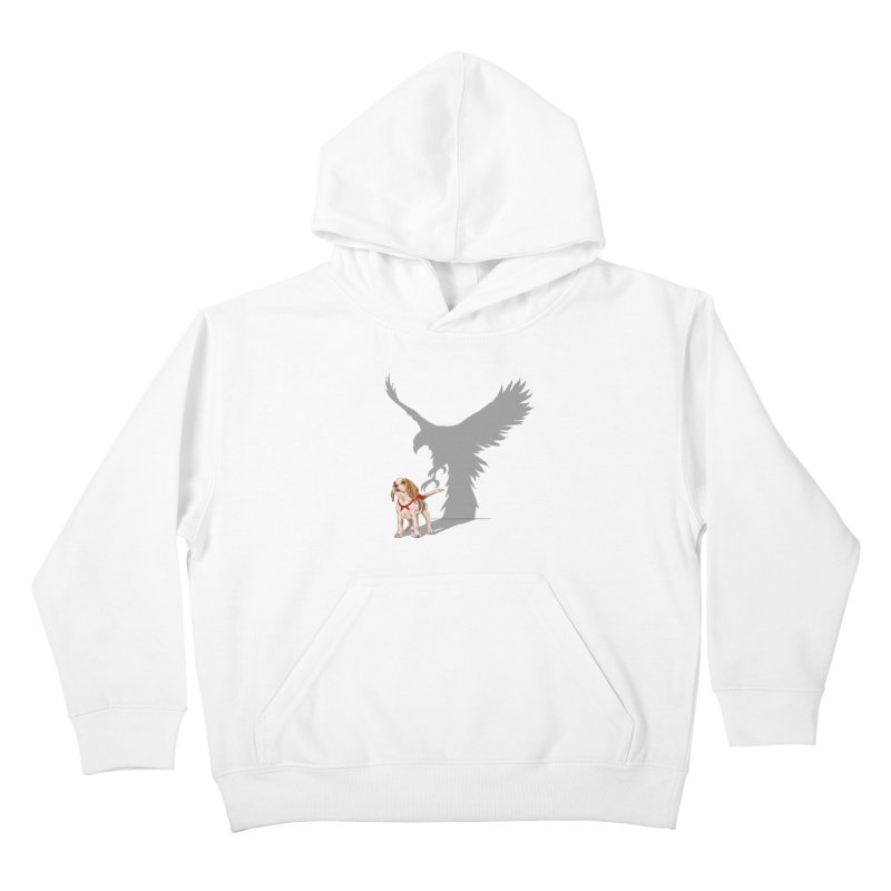 Be Eagle Kids Pullover Hoody by kooky love's Artist Shop