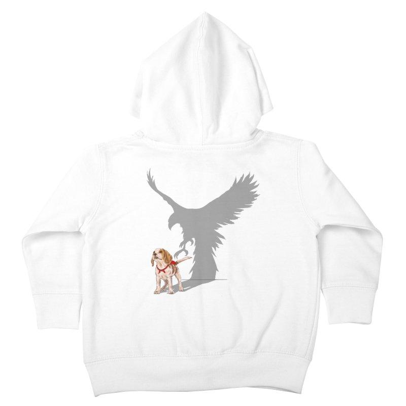 Be Eagle Kids Toddler Zip-Up Hoody by kooky love's Artist Shop